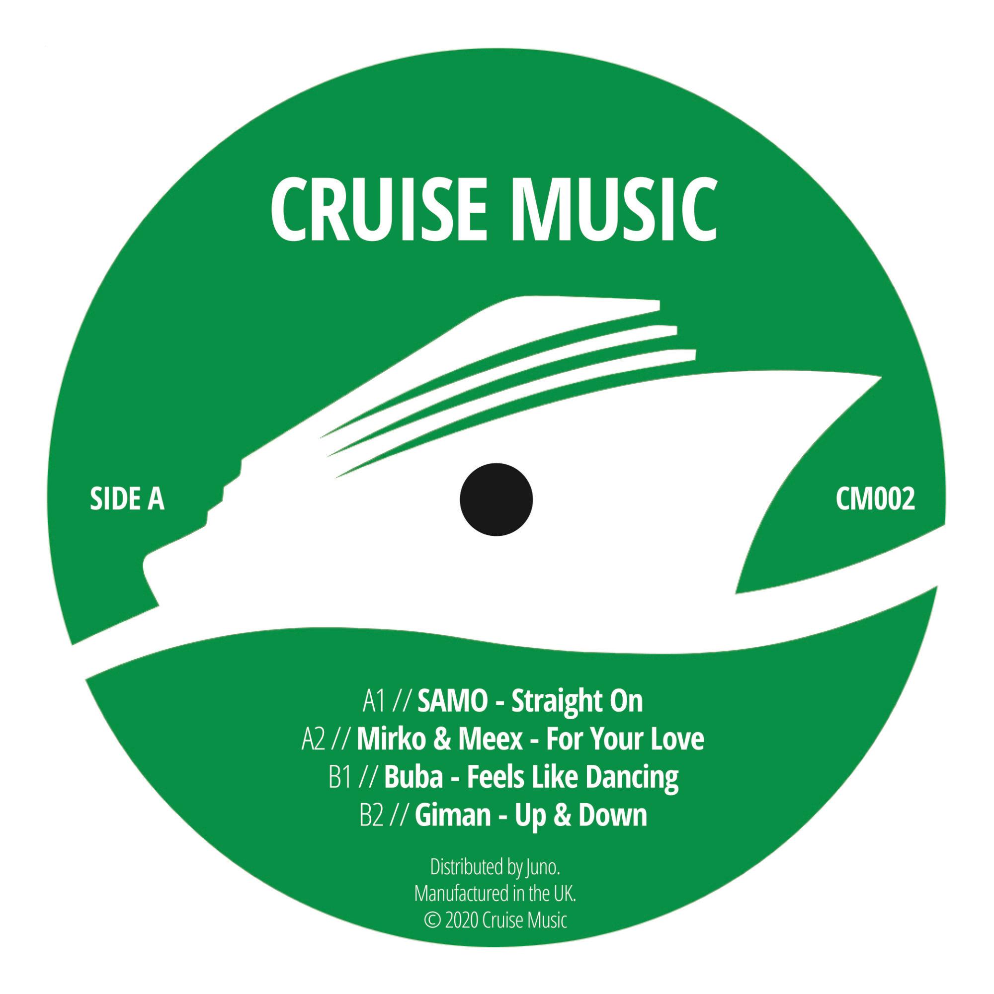 SAMO/MIRKO & MEEX/BUBA/GIMAN - Cruise Music Vinyl Jams Vol 2